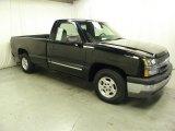 2003 Black Chevrolet Silverado 1500 LS Regular Cab #58239070