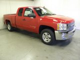 2012 Victory Red Chevrolet Silverado 1500 LT Extended Cab #58239062