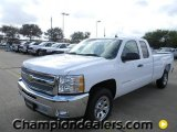 2012 Summit White Chevrolet Silverado 1500 LT Extended Cab #58238324