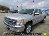 2012 Silver Ice Metallic Chevrolet Silverado 1500 LT Crew Cab #58238320