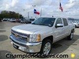 2012 Silver Ice Metallic Chevrolet Silverado 1500 LT Crew Cab #58238317