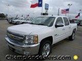 2012 Summit White Chevrolet Silverado 1500 LT Crew Cab #58238313
