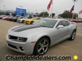 2012 Silver Ice Metallic Chevrolet Camaro LT/RS Coupe #58238306