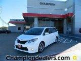 2011 Super White Toyota Sienna SE #57874885