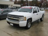 2008 Summit White Chevrolet Silverado 1500 LS Extended Cab #58239021