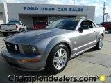 2006 Tungsten Grey Metallic Ford Mustang GT Premium Convertible #58238275