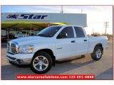 2008 Bright White Dodge Ram 1500 Lone Star Edition Quad Cab #58239007