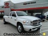 2009 Bright White Dodge Ram 3500 ST Quad Cab Dually #57874862