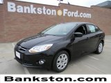 2012 Tuxedo Black Metallic Ford Focus SE Sedan #58238232