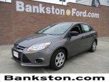 2012 Sterling Grey Metallic Ford Focus S Sedan #58238231