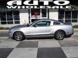 2011 Ingot Silver Metallic Ford Mustang V6 Premium Coupe #58238990