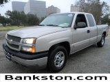 2004 Silver Birch Metallic Chevrolet Silverado 1500 LS Extended Cab #58238194