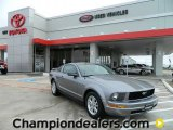 2006 Tungsten Grey Metallic Ford Mustang V6 Deluxe Coupe #57874824