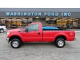 2012 Vermillion Red Ford F250 Super Duty XL Regular Cab 4x4 #58238947