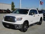 2012 Super White Toyota Tundra Texas Edition CrewMax #57874794