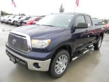 Nautical Blue Metallic Toyota Tundra in 2012