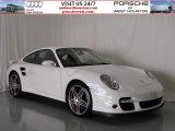 2007 Carrara White Porsche 911 Turbo Coupe #58238898