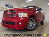 2004 Flame Red Dodge Ram 1500 SRT-10 Regular Cab #58090028