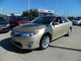 2012 Sandy Beach Metallic Toyota Camry XLE V6 #57874713