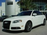 2008 Ibis White Audi A4 2.0T Special Edition Sedan #580557