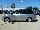 2012 Silver Sky Metallic Toyota Sienna LE #57874697