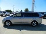 2012 Silver Sky Metallic Toyota Sienna LE #57874696