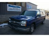 2003 Arrival Blue Metallic Chevrolet Silverado 1500 Regular Cab #58238830