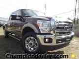 2012 Golden Bronze Metallic Ford F250 Super Duty Lariat Crew Cab 4x4 #58089998
