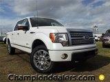 2011 White Platinum Metallic Tri-Coat Ford F150 Platinum SuperCrew 4x4 #58089985