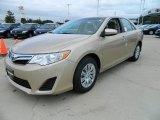 2012 Sandy Beach Metallic Toyota Camry LE #57874657