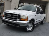 2000 Oxford White Ford F250 Super Duty XLT Extended Cab #58238813