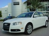2008 Ibis White Audi A4 2.0T Special Edition Sedan #580556