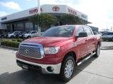 2011 Barcelona Red Metallic Toyota Tundra CrewMax 4x4 #57874616