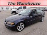2004 Orient Blue Metallic BMW 3 Series 325i Sedan #58089928