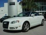 2008 Ibis White Audi A4 2.0T Cabriolet #580555