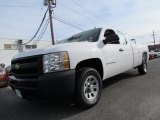 2008 Summit White Chevrolet Silverado 1500 Work Truck Extended Cab #58238740