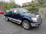 2011 Dark Blue Pearl Metallic Ford F150 XLT SuperCrew 4x4 #58238708