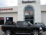 2011 Brilliant Black Crystal Pearl Dodge Ram 1500 Big Horn Quad Cab 4x4 #58238706