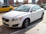 2011 Ice White Volvo C70 T5 #58364688