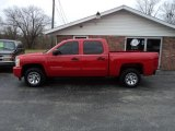 2010 Victory Red Chevrolet Silverado 1500 LS Crew Cab #58364568