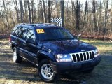 2002 Patriot Blue Pearlcoat Jeep Grand Cherokee Laredo 4x4 #58364662