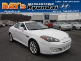 2008 Captiva White Hyundai Tiburon GT #58364627