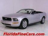 2006 Satin Silver Metallic Ford Mustang V6 Premium Convertible #543968
