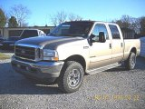2002 Arizona Beige Metallic Ford F250 Super Duty Lariat Crew Cab 4x4 #58364503