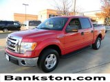 2010 Vermillion Red Ford F150 XLT SuperCrew #58364397