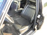 1988 Mercedes-Benz S Class Interiors