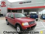 2003 Redfire Metallic Ford Explorer XLT #58387210