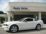 2005 Performance White Ford Mustang GT Premium Coupe #543634