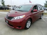 2012 Salsa Red Pearl Toyota Sienna LE #58387207