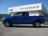 2012 Blue Flame Metallic Ford F150 XLT SuperCab 4x4 #58387192